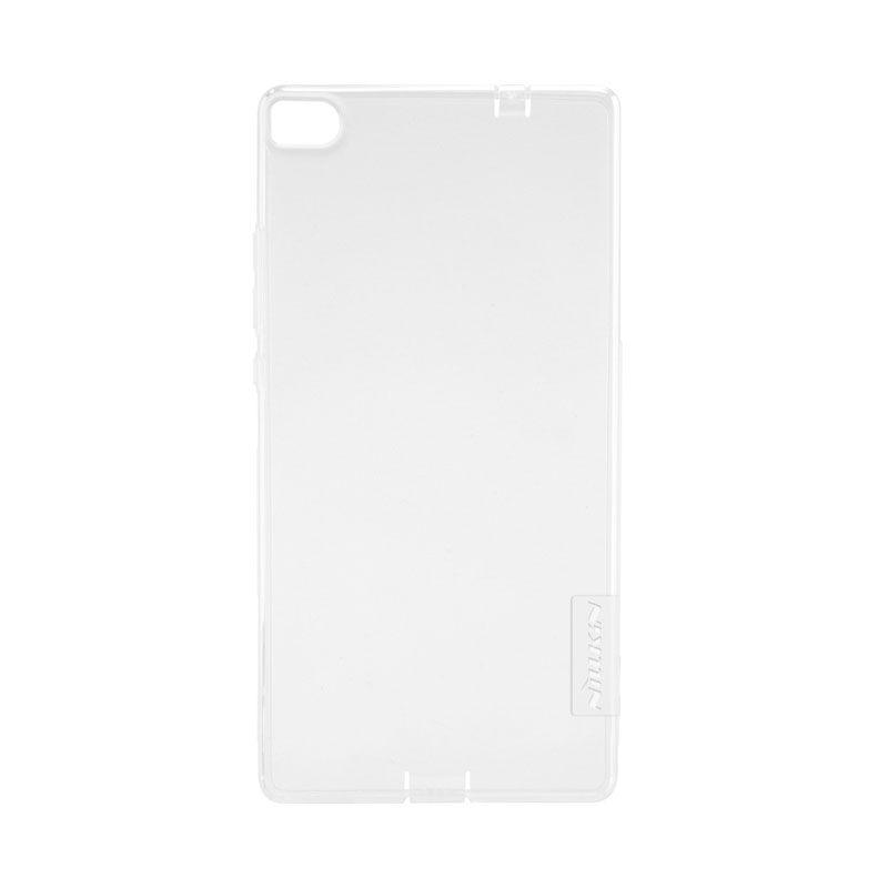 Nillkin Original Nature TPU White Transparan Softcase Casing for Huawei Ascend P8