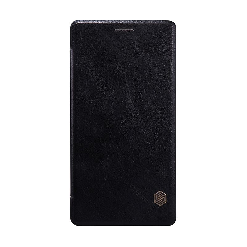 Nillkin Original Qin Leather Black Flip Cover Casing for OnePlus 2