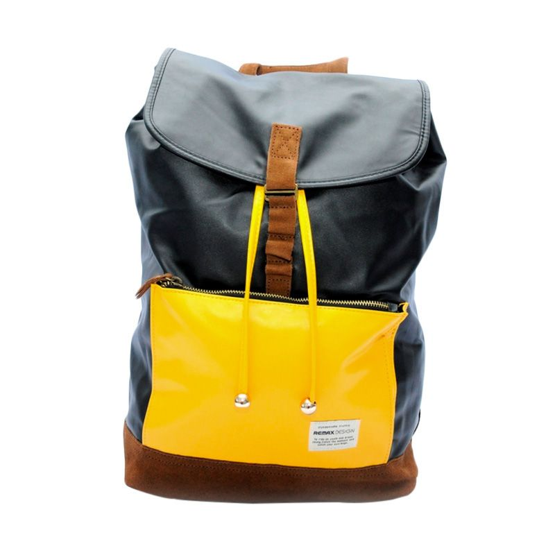Remax Double 308 Colourful Fashion Yellow Tas Ransel