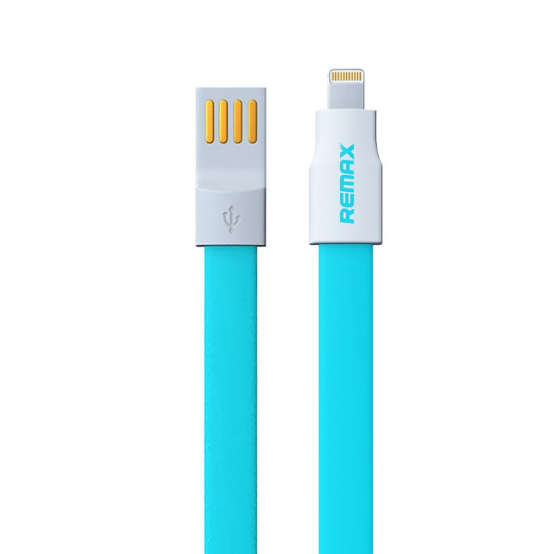 Remax Fast Speed  Blue USB Data Cable for iPhone & iPad