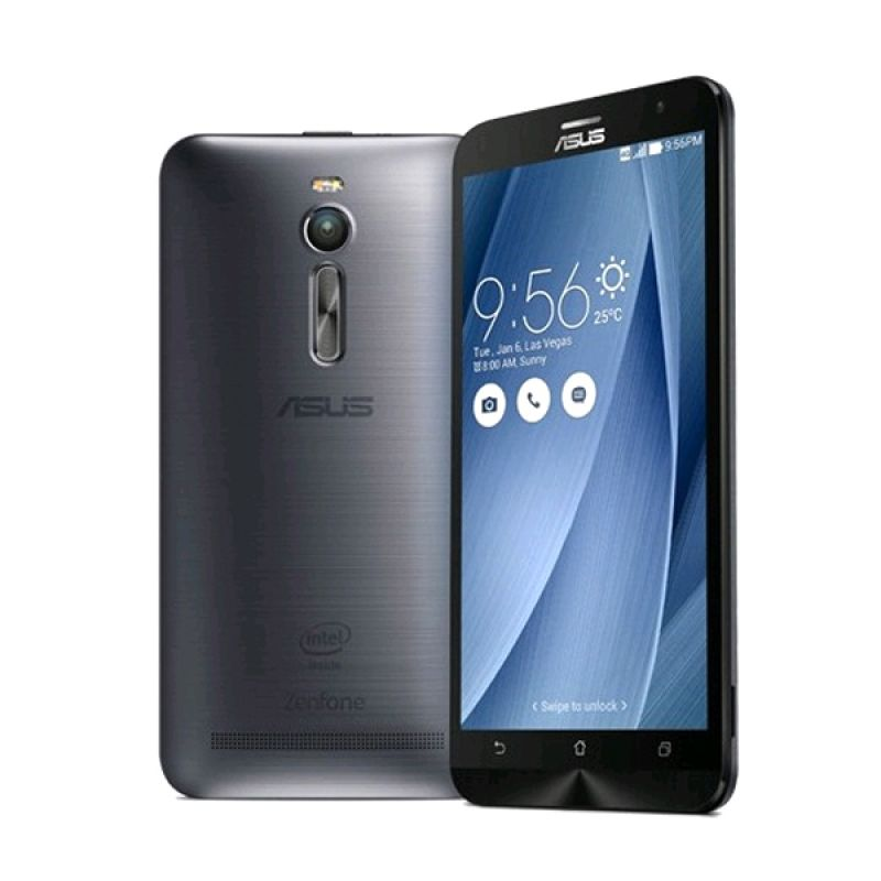Asus Zenfone 2 ZE551ML Silver Smartphone [RAM 2 GB/16 GB]