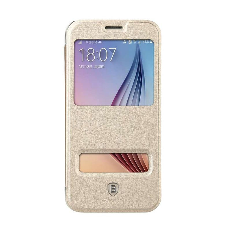 Baseus Primary Color Gold Casing for Samsung Galaxy S6