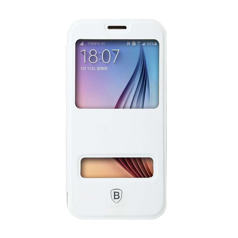 Baseus Primary Color Putih Casing for Samsung Galaxy S6