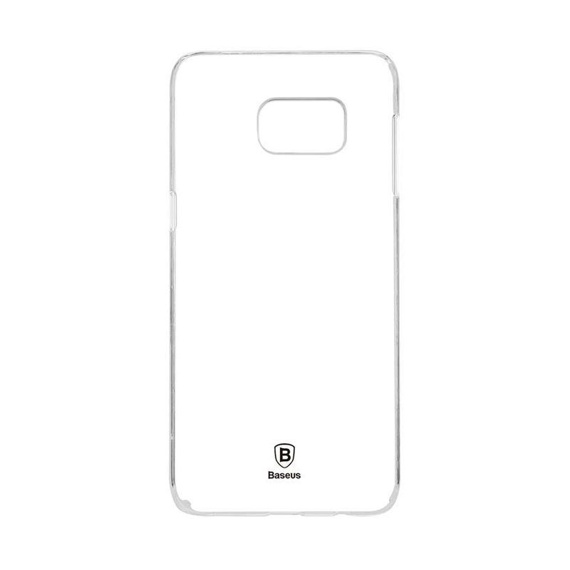 Baseus Sky White Transparan Hard Casing for Samsung Galaxy S6 Edge Plus [Original]