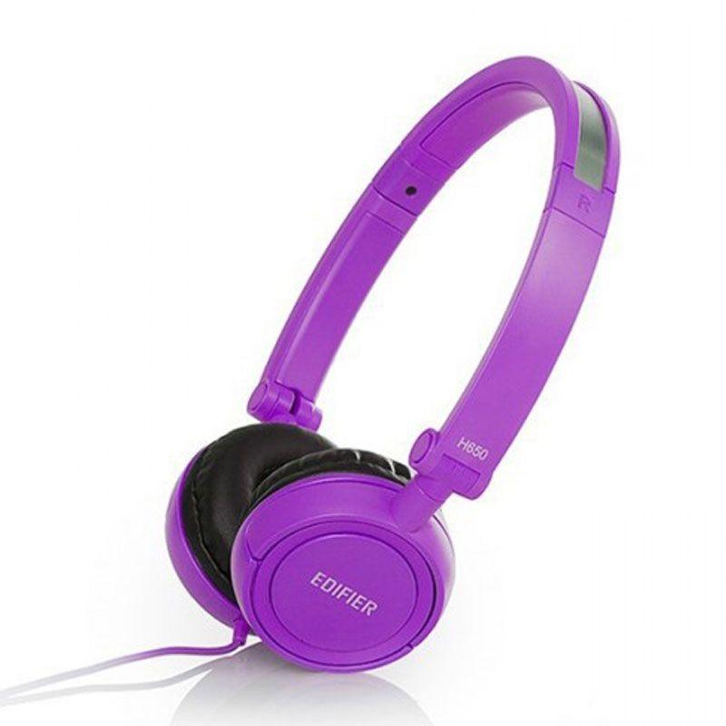 Edifier Original Foldable H650 Ungu Headphone