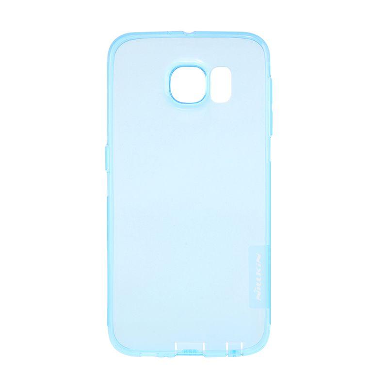 Nillkin Nature TPU Blue Transparan Casing for Samsung Galaxy S6