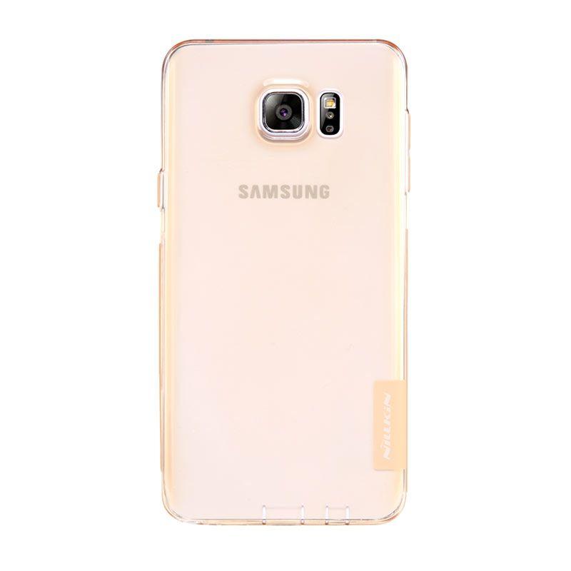 Nillkin Nature TPU Brown Transparan Soft Casing for Samsung Galaxy Note 5