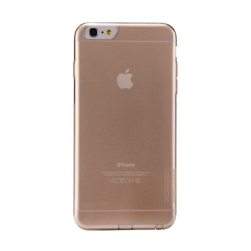 Nillkin Nature TPU Gold Transparan Casing for iPhone 6 Plus