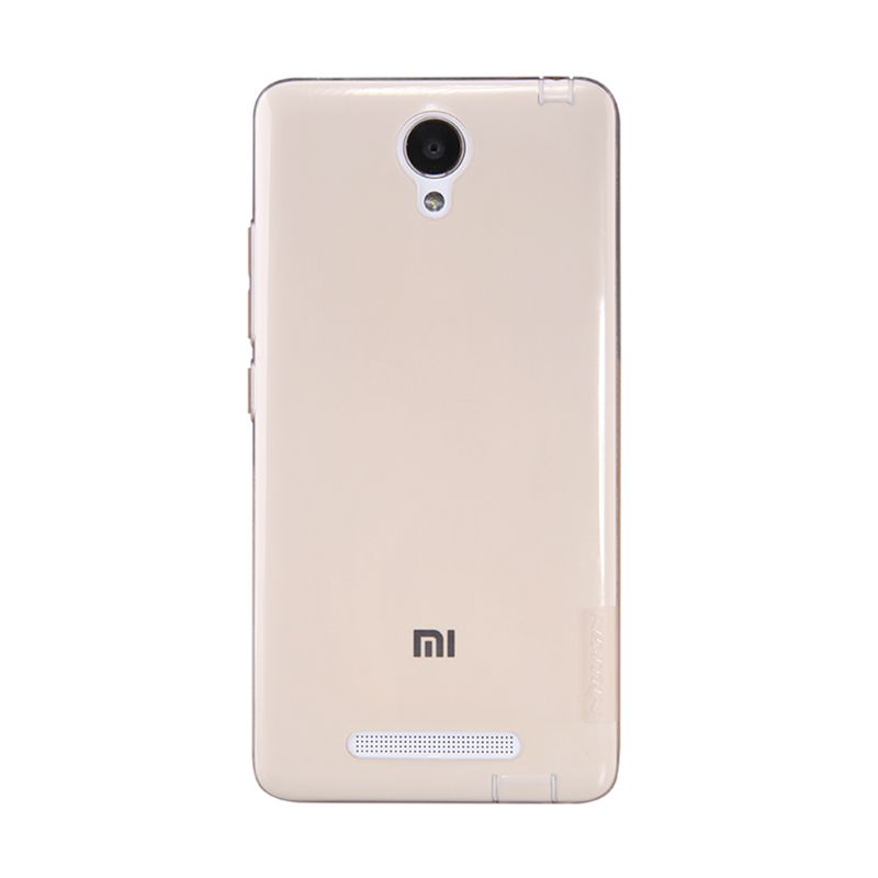 Nillkin Nature TPU Gold Transparan Soft Casing for Xiaomi Redmi Note 2 [Original]