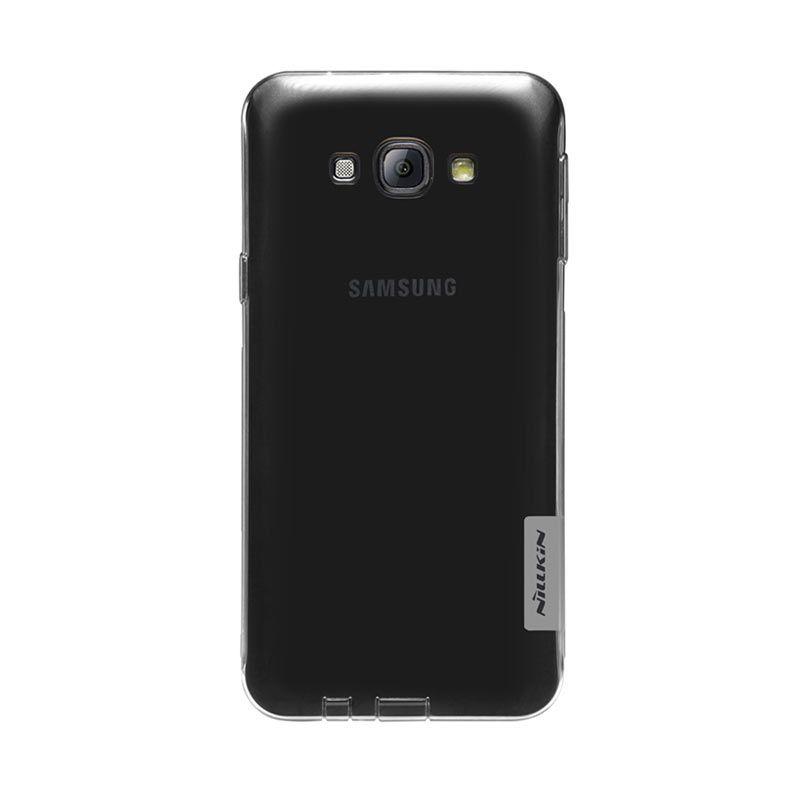 Nillkin Nature TPU Grey Transparan Soft Casing for Samsung Galaxy A8