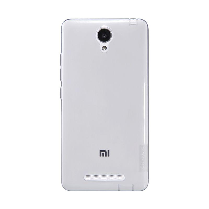 Nillkin Nature TPU Grey Transparan Soft Casing for Xiaomi Redmi Note 2 [Original]
