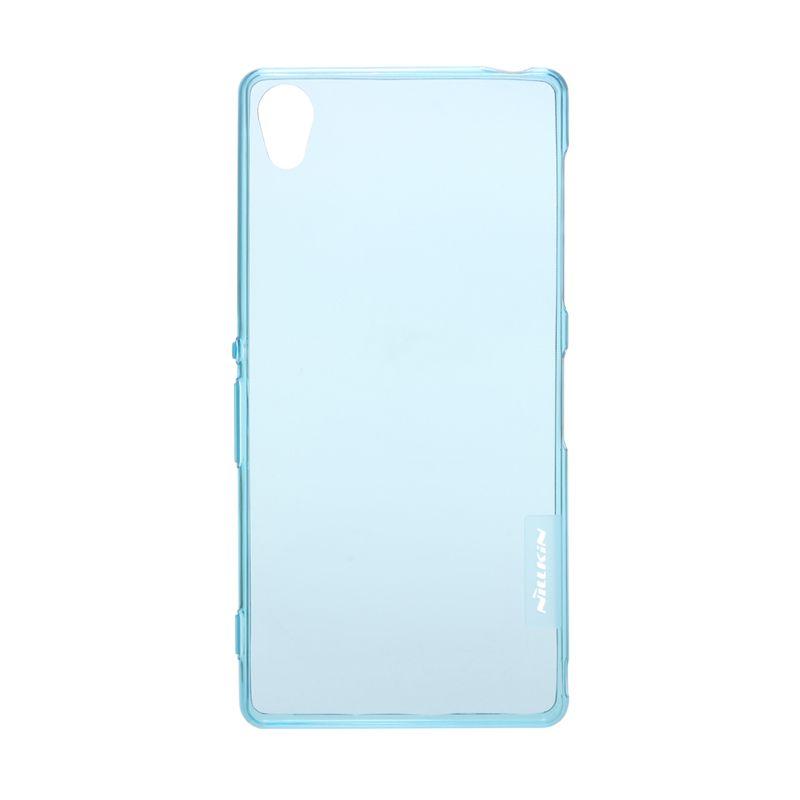 Nillkin Nature TPU Transparan Soft Blue Casing for Sony Xperia Z3