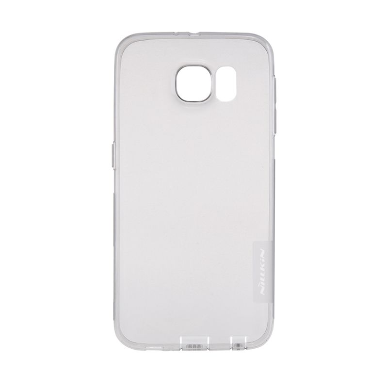 Nillkin Nature TPU Transparan Soft Grey Casing for Samsung Galaxy S6 Edge