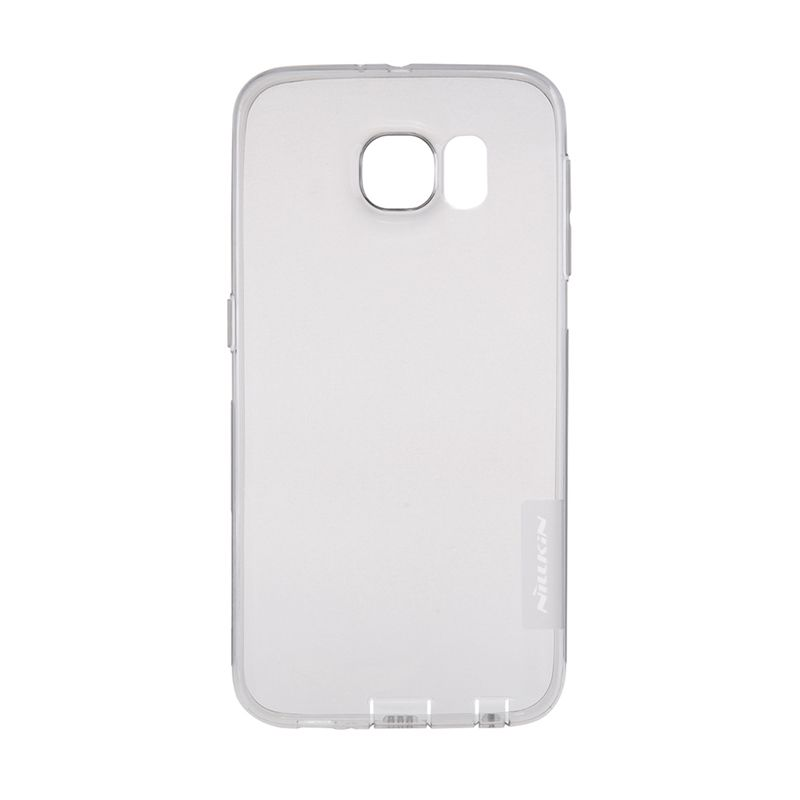 Nillkin Nature TPU Transparan Soft Grey Casing for Galaxy S6