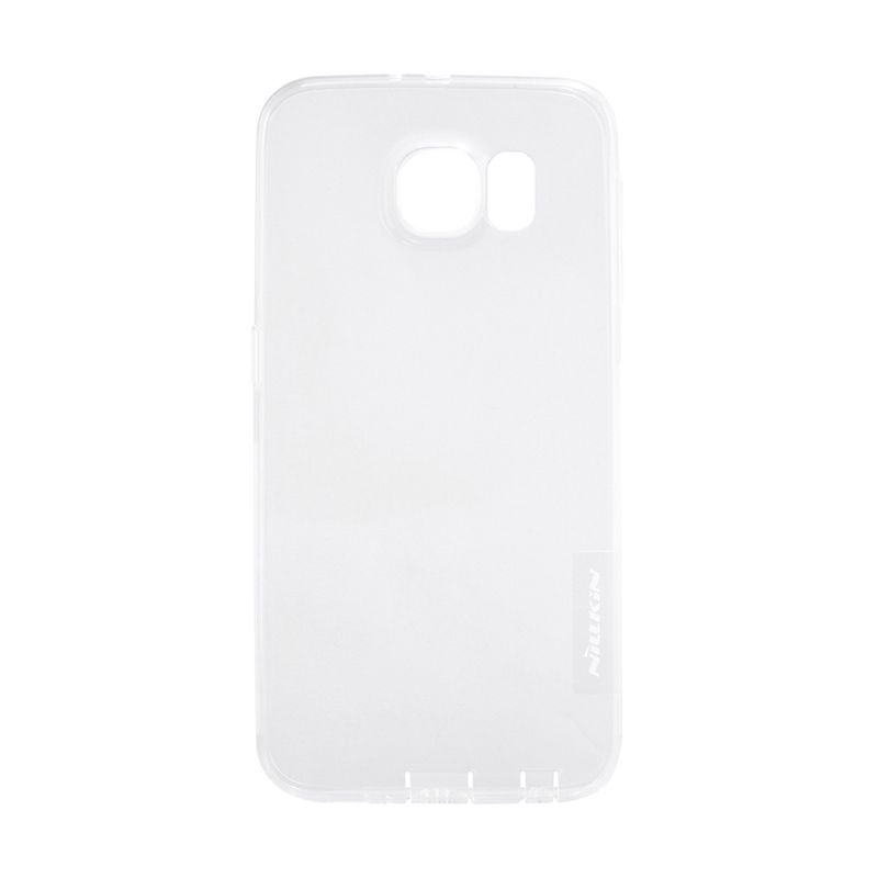 Nillkin Nature TPU Transparan Soft White Casing for Galaxy S6