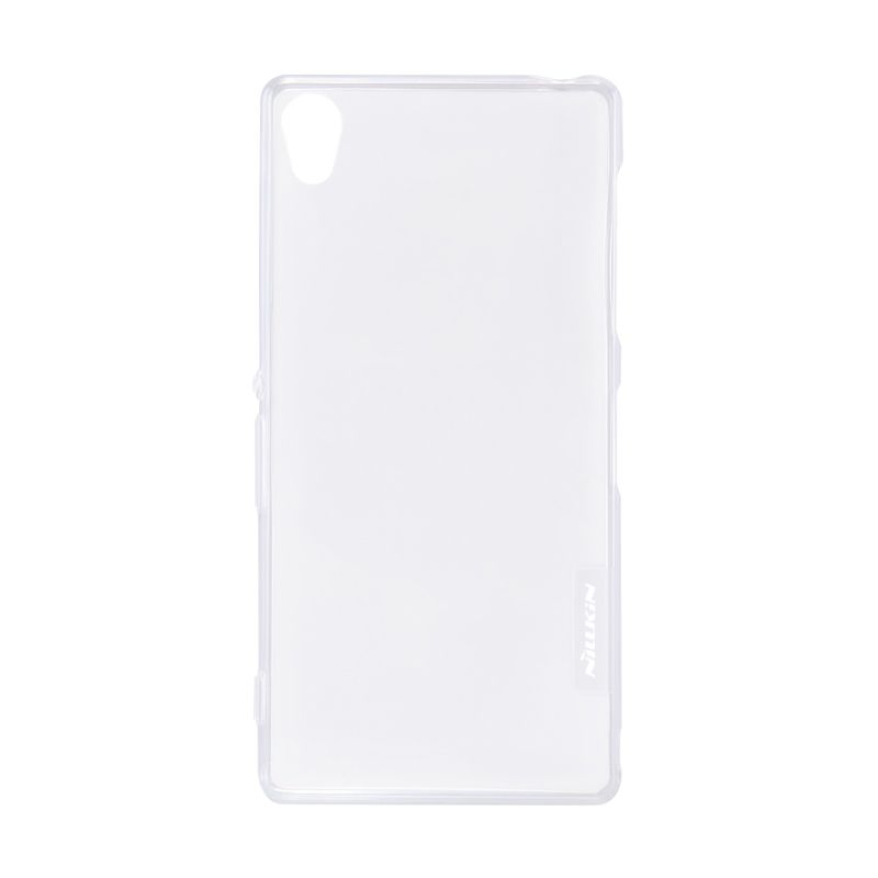 Nillkin Nature TPU Transparan Soft White Casing for Sony Xperia Z3