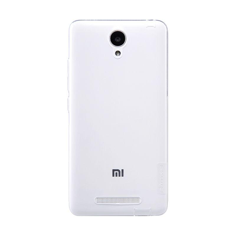 Nillkin Nature TPU White Transparan Soft Casing for Xiaomi Redmi Note 2 [Original]