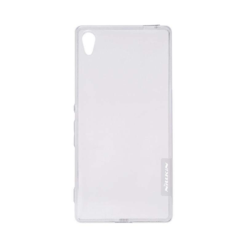 Nillkin Original Nature TPU Grey Transparan Soft Casing for Sony Xperia Z4 or Xperia Z3 Plus
