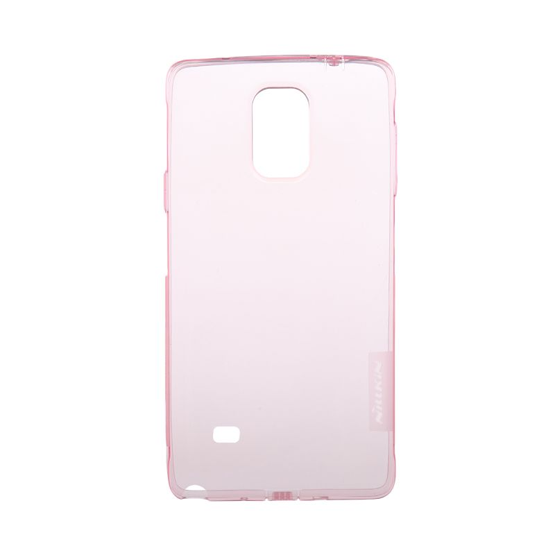 Nillkin Original Nature TPU Pink Transparan Soft Casing for Samsung Galaxy Note 4