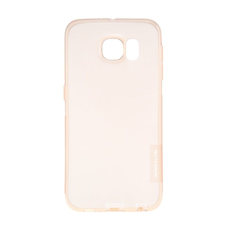 Nillkin Original Nature TPU Soft Brown Transparan Casing for Samsung Galaxy S6 Edge Plus