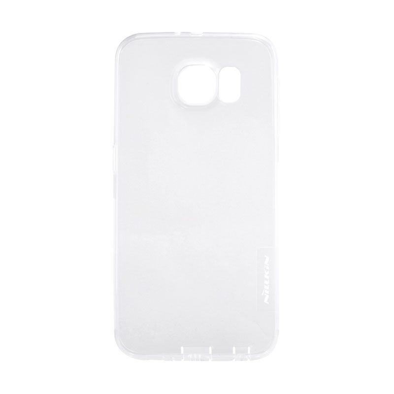Nillkin Original Nature TPU Soft White Transparan Casing for Samsung Galaxy S6 Edge Plus