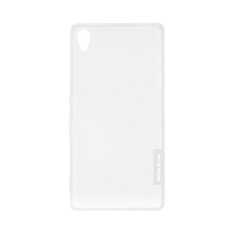 Nillkin Original Nature TPU White Transparan Soft Casing for Sony Xperia Z4 or Xperia Z3 Plus