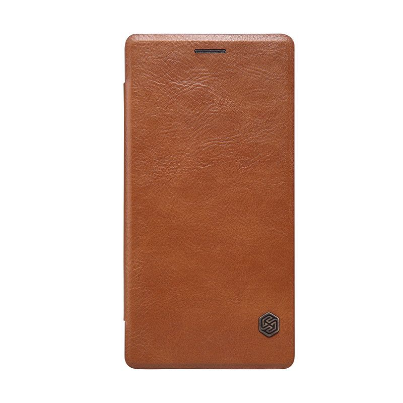 Nillkin Original Qin Brown Flip Leather Casing for Oneplus 2