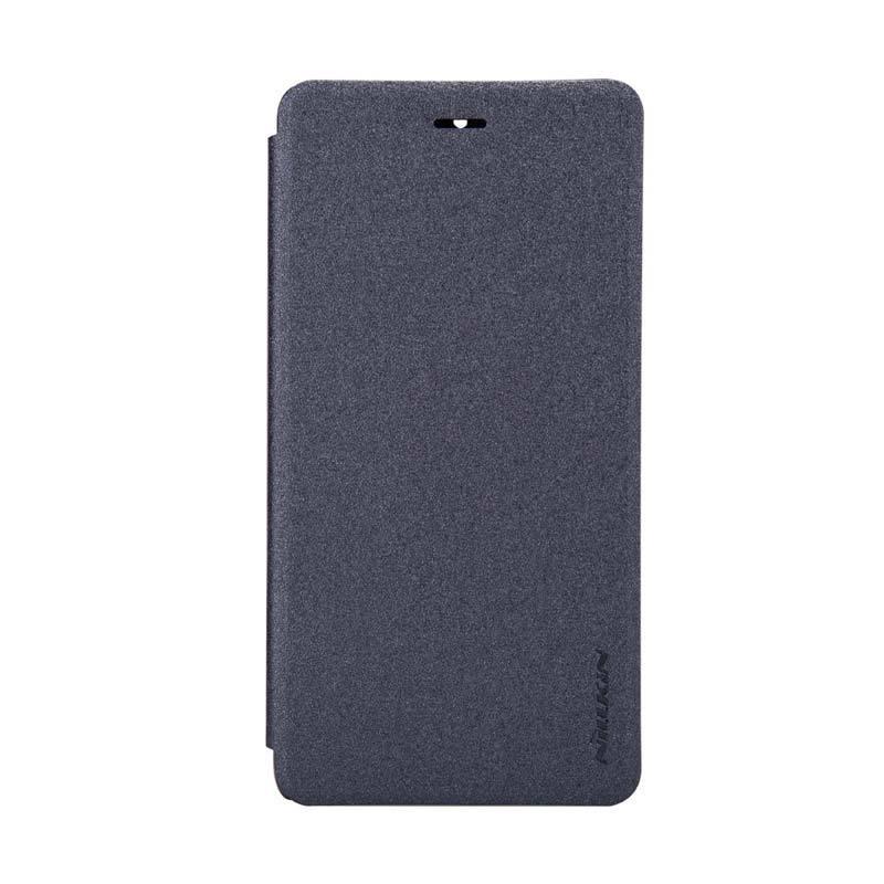 Nillkin Original Sparkle Leather Hitam Casing for Xiaomi Mi 4 or Xiaomi Mi 4 LTE
