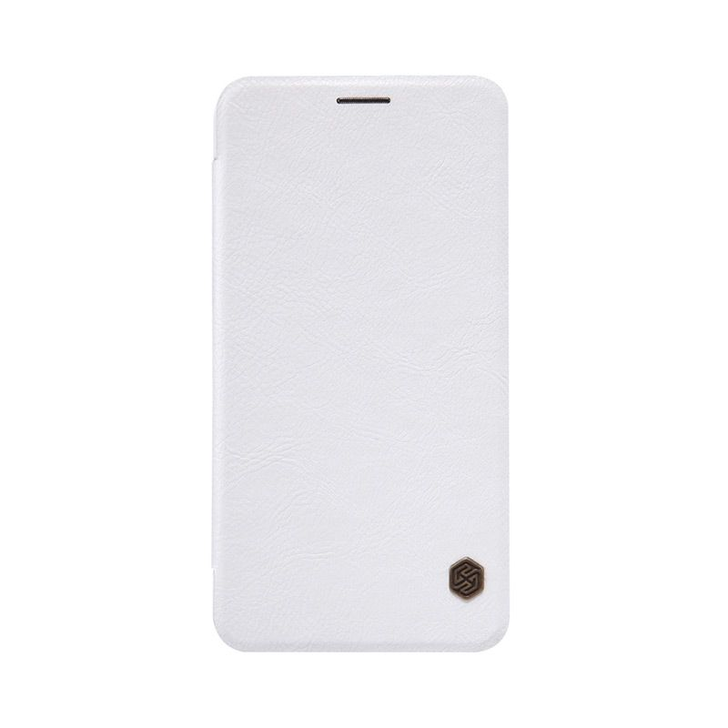 Nillkin Original Qin Leather Putih Casing for Asus Zenfone 2 ZE550ML or ZE551ML [5.5 Inch]