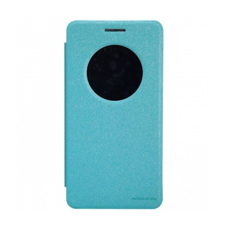 Nillkin Sparkle Leather Biru Casing for Asus Zenfone 6