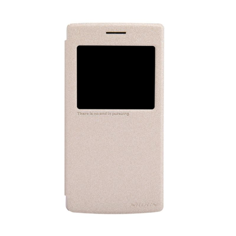 Nillkin Sparkle Leather Gold Casing for OnePlus One