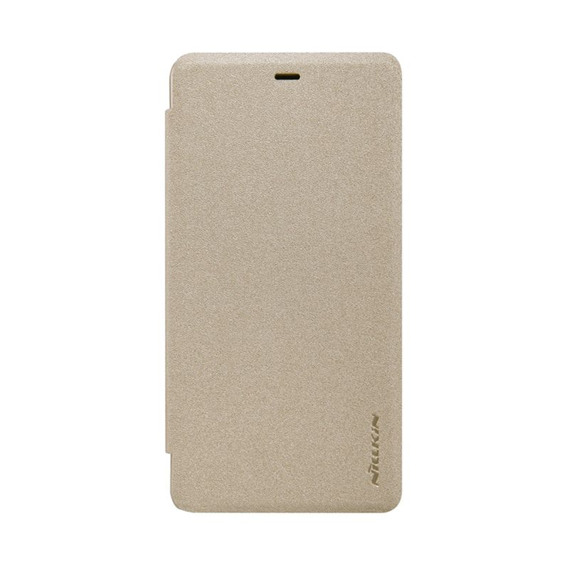 Nillkin Sparkle Flip Gold  Leather Casing for Xiaomi Mi 4i