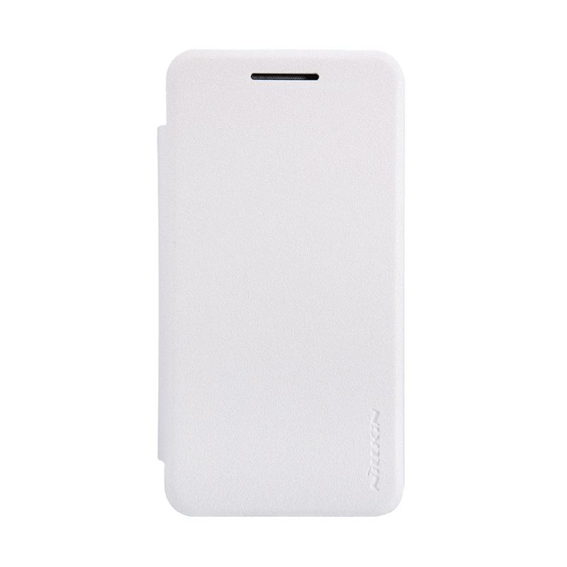 Nillkin Sparkle Leather White Casing for Asus Zenfone 4 A400CG [1600 mAh]