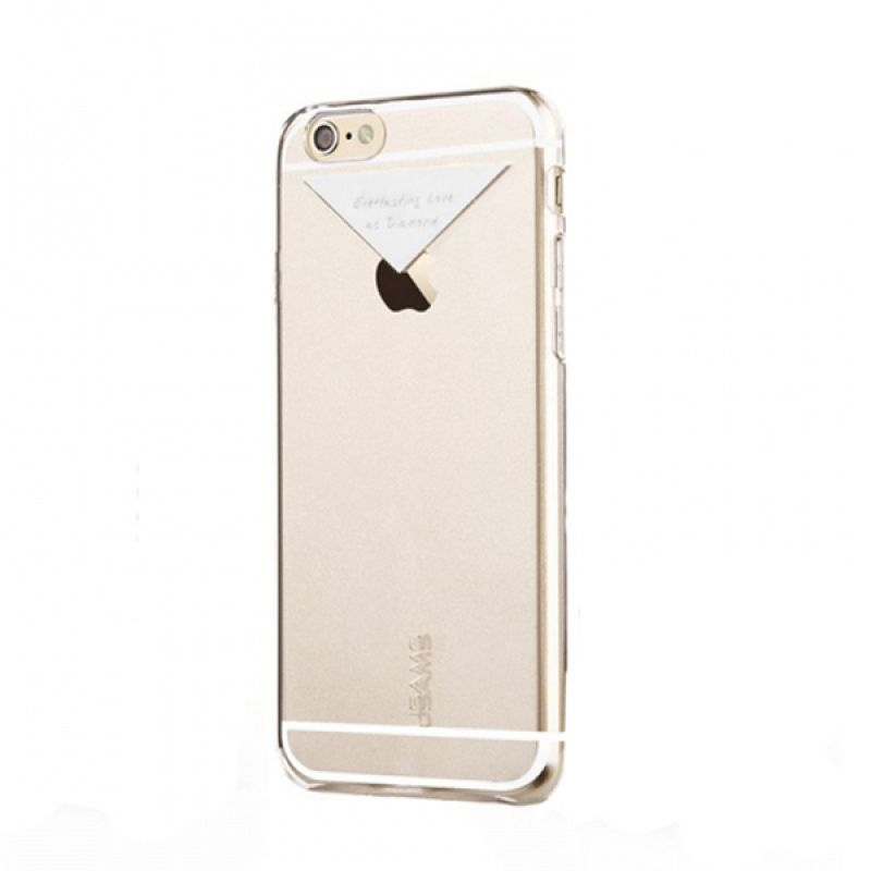 Usams Dazzle Series Silver Casing for iPhone 6