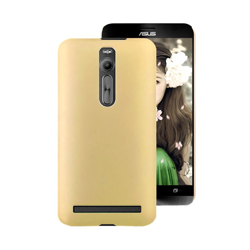 Pudini Matte Gold Casing for Zenfone 2 ZE550ML or ZE551ML