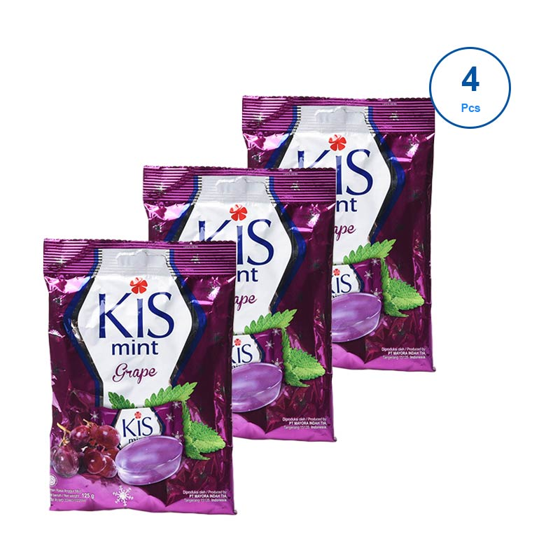 Kis Grape [125 g/50 pcs/4 pack] 312281