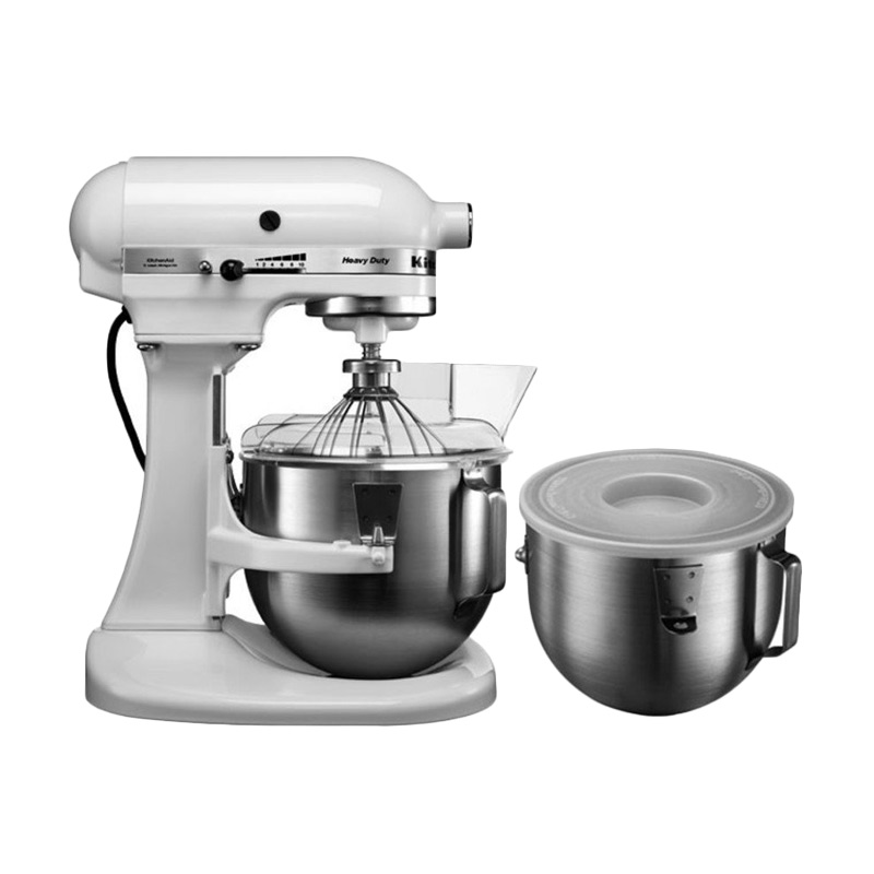 Kitchen Aid 5KPM50 Heavy Duty Putih Stand Mixer