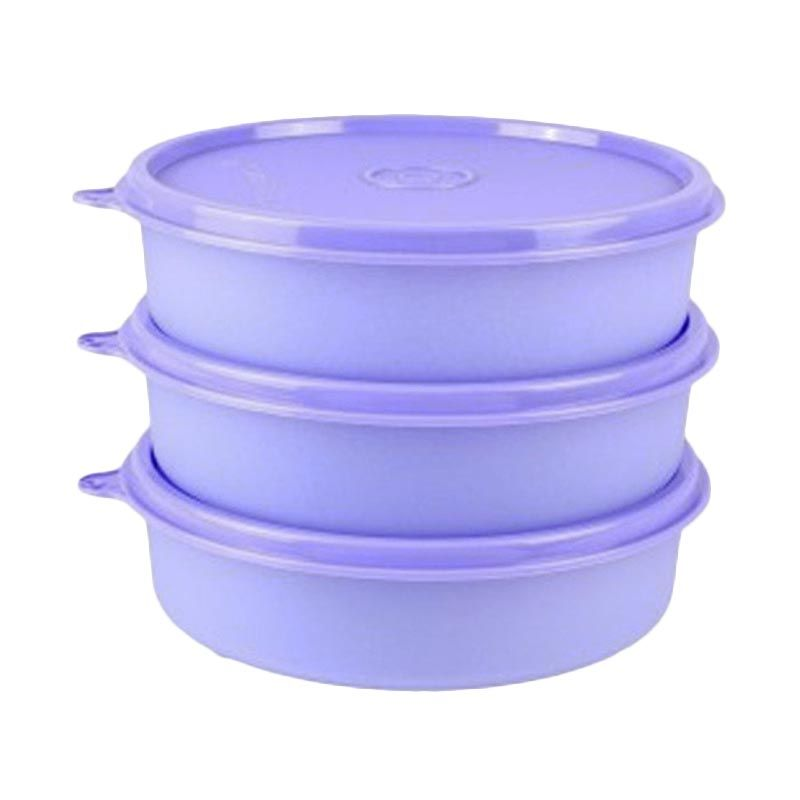 Tupperware Large Handy Bowl Ungu Toples [3 Pcs]