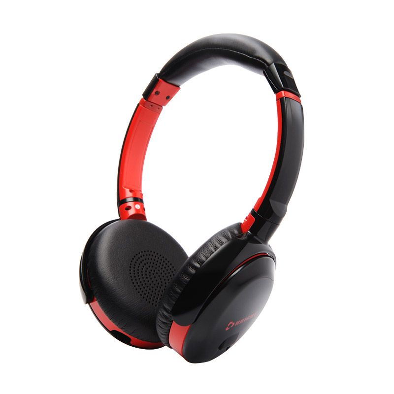 Bright Bassi H20 Wired Stereo Bass Hitam Headset Gaming