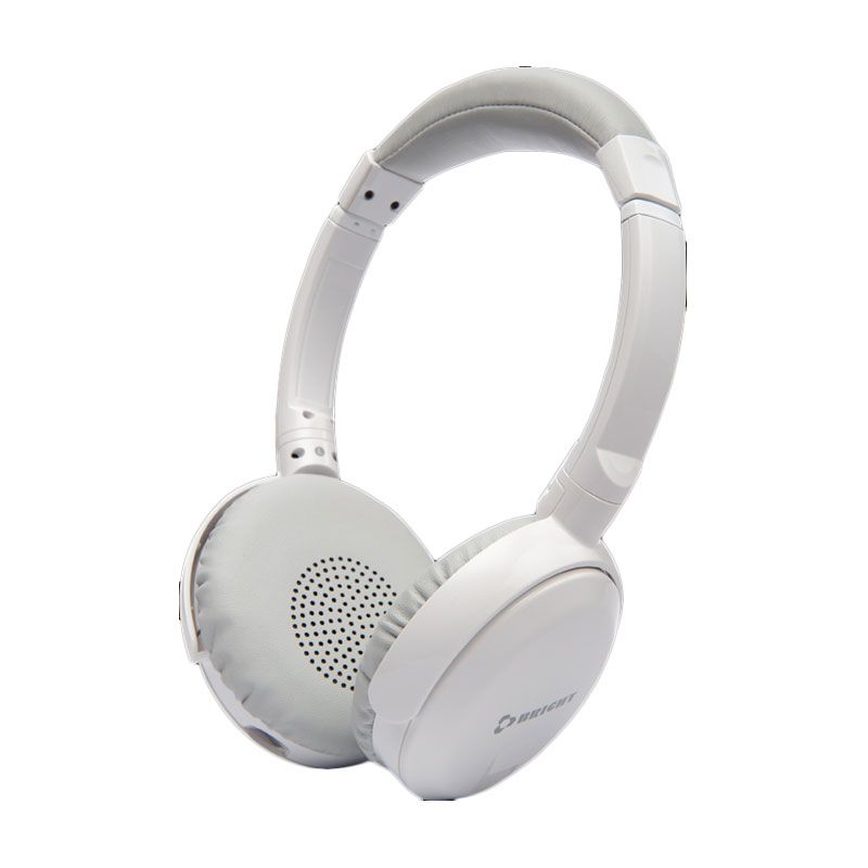 Bright Bassi H20 Wired Stereo Bass Putih Headset Gaming
