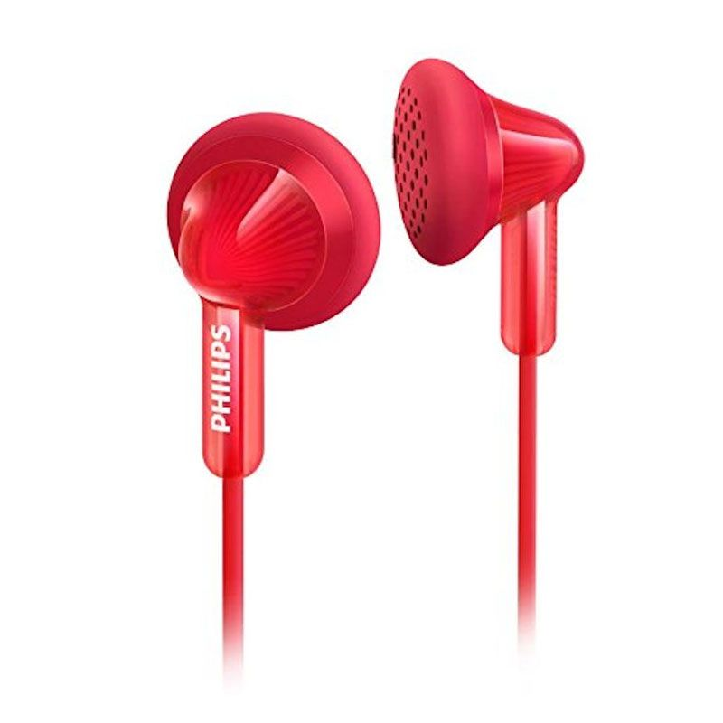 Philips SHE 3010 Merah Earphone