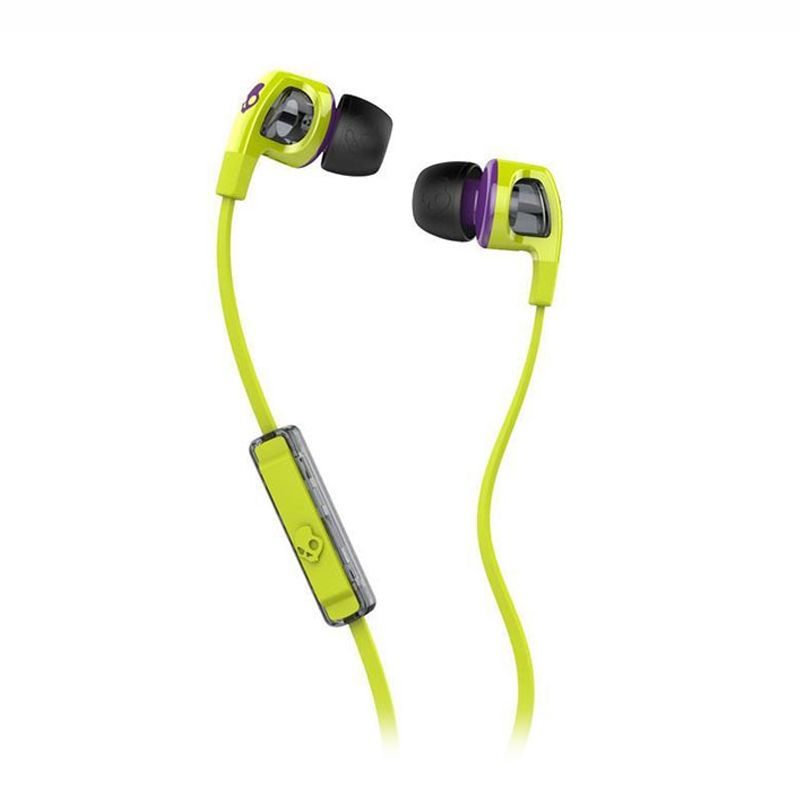Skullcandy Smokin Bud 2 Hot Lime Purple Earphone