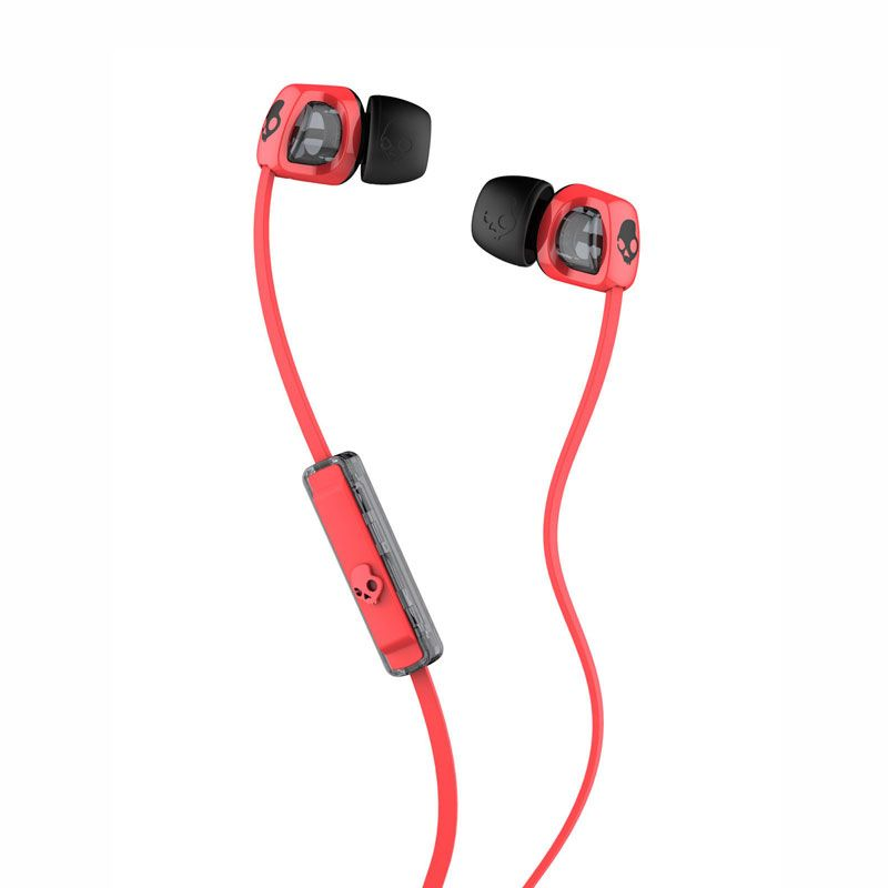 Skullcandy Smokin Bud 2 Hot Red Black Earphone