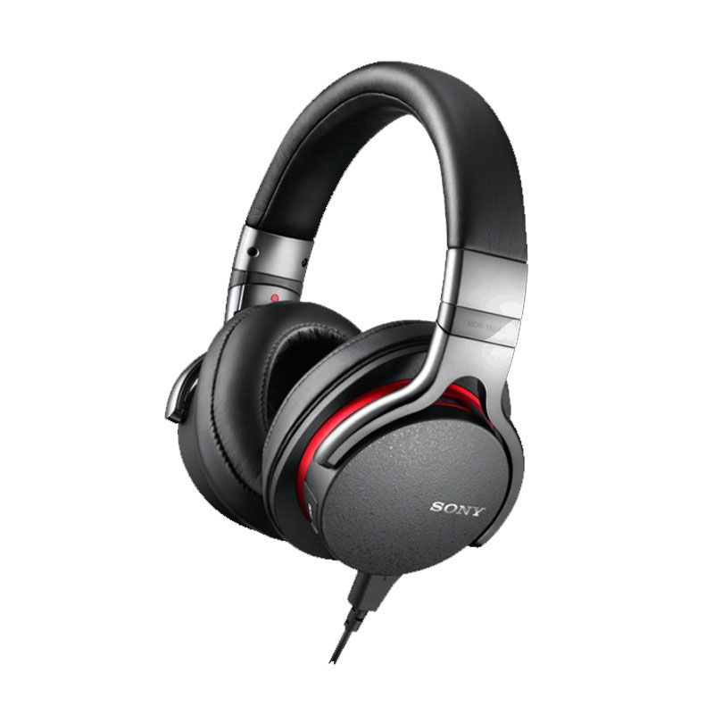 Sony Premium Hi-Res Wired Stereo MDR-1A Hitam Headphone
