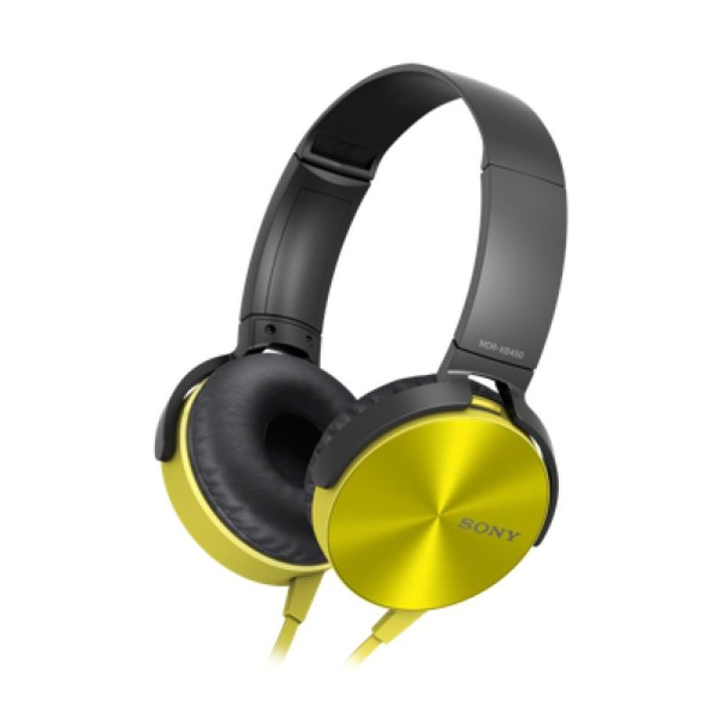 SONY XB450AP Extra Bass Yellow Headphone