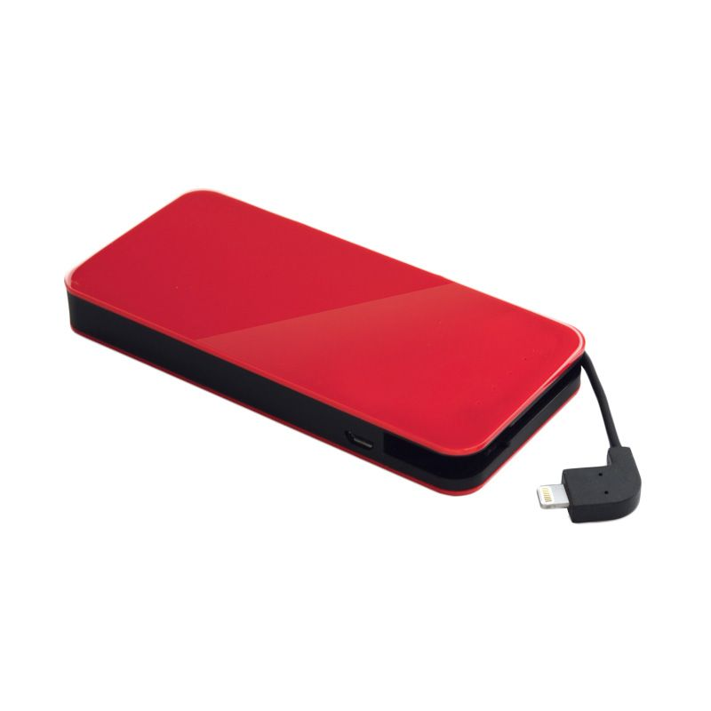 Ye!! Lightning Energy Pocket BPS60L Merah Powerbank [6000 mAh]