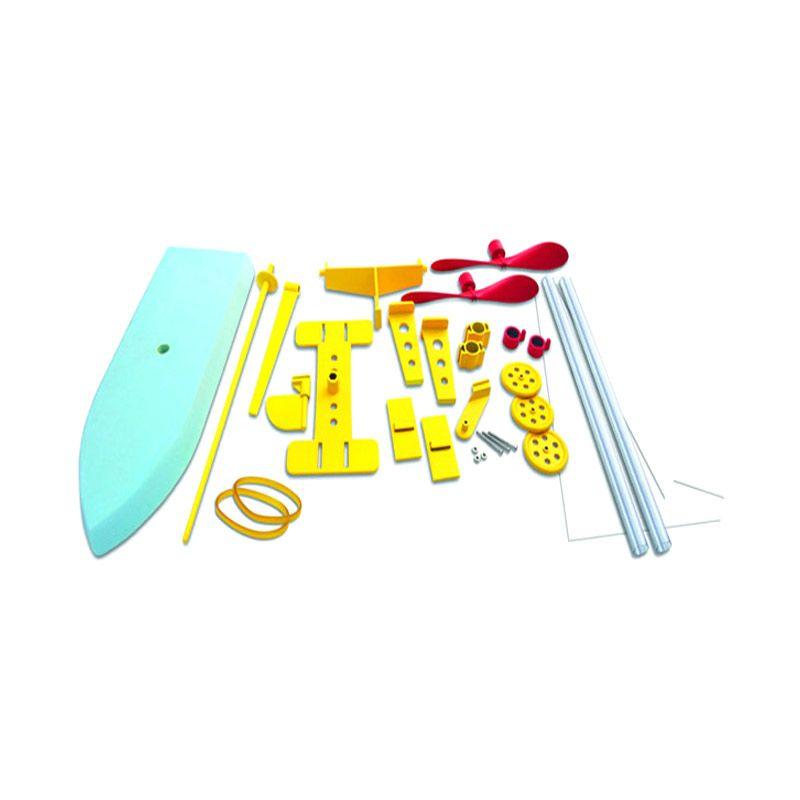 CSL Rubber Band Powered Propeller Engines Model Kit