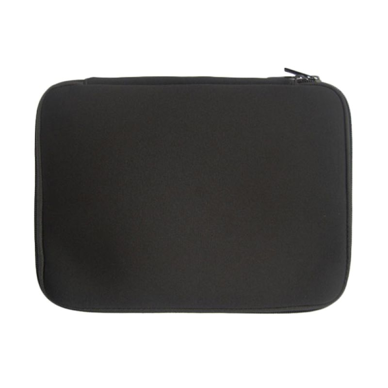 KLIKMYSTORE.COM Softcase Notebook Zipper Black Tas Laptop [14 Inch]