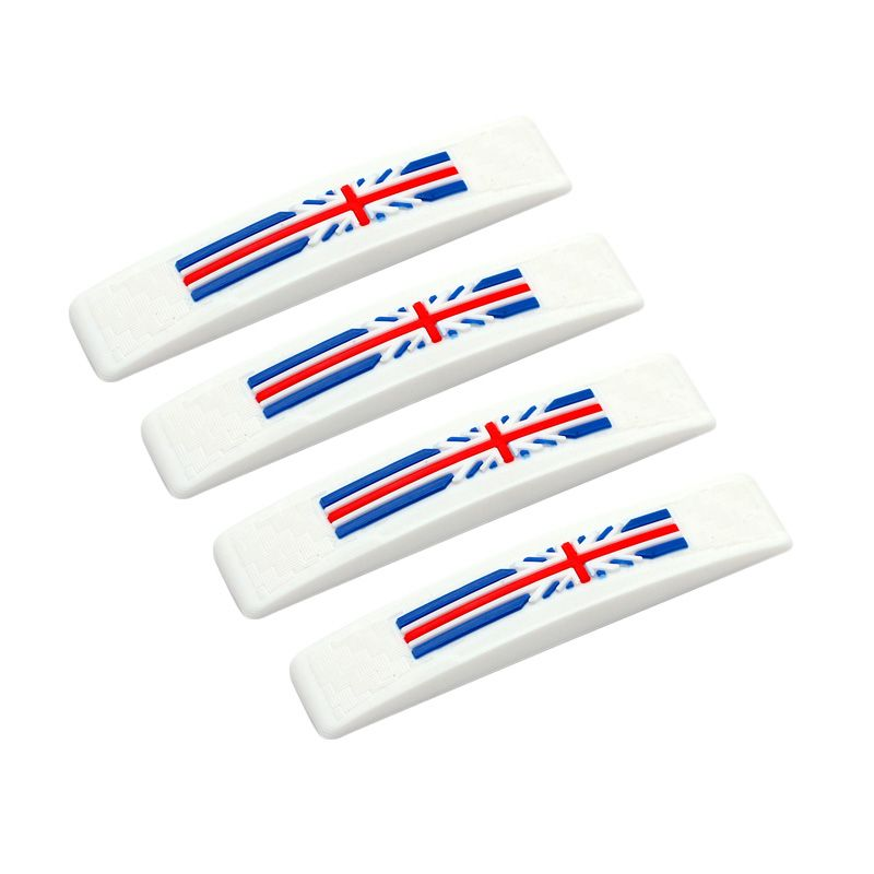 Klikoto C-YY Simple Motif England White Door Guard