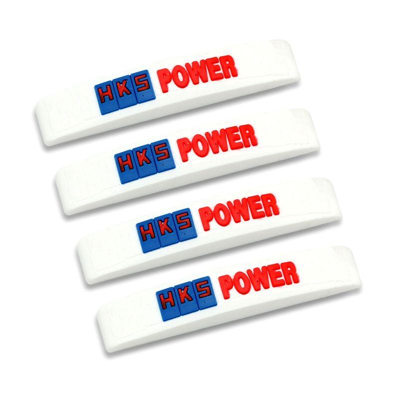 Klikoto C-YY Simple Motif HKS Power White Door Guard